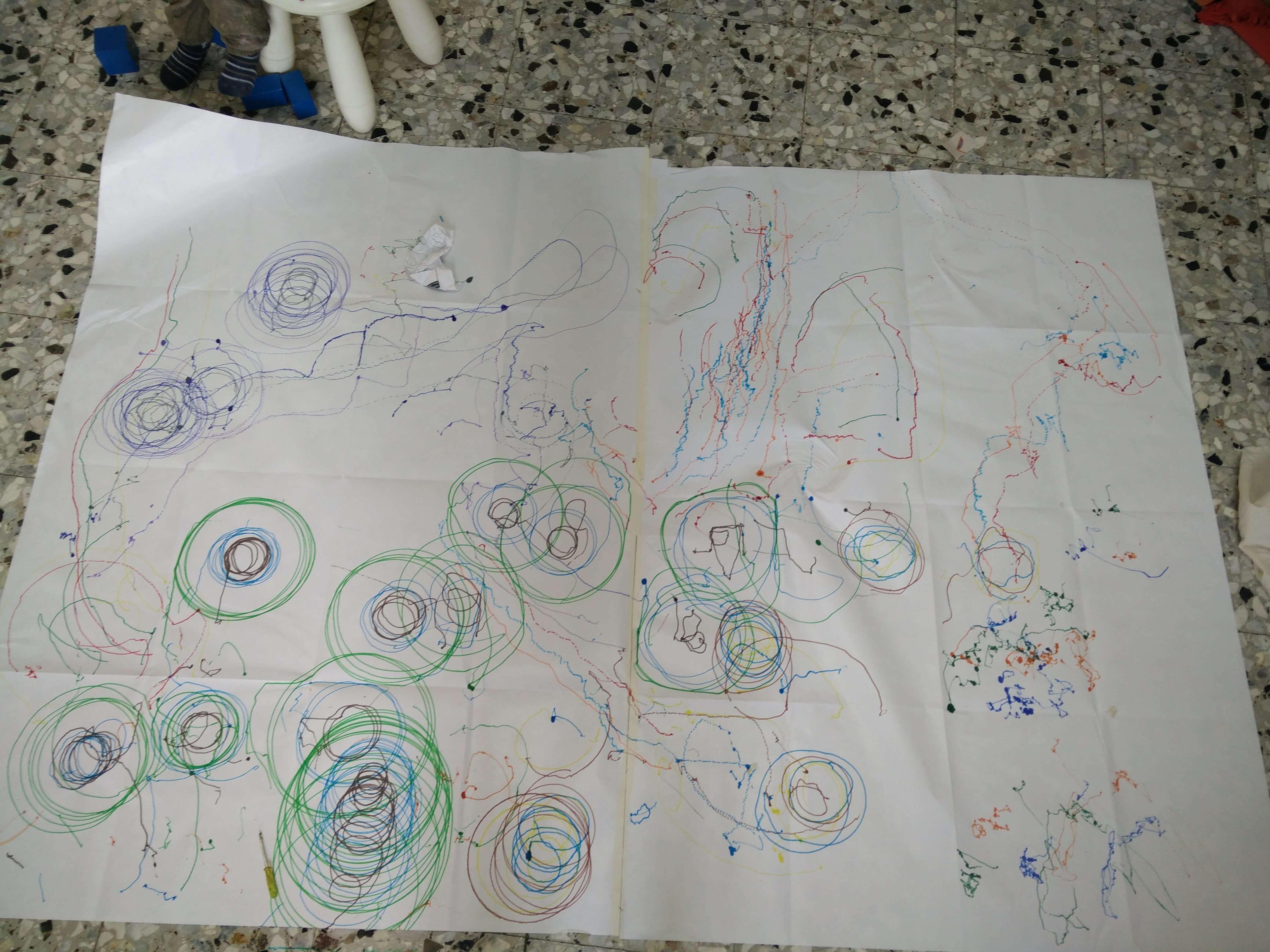 Costruire una macchina per disegnare (scribbling machine