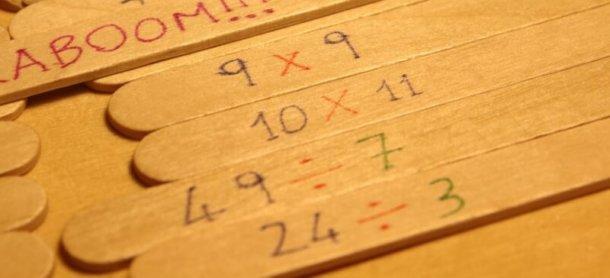 Kaboom: gioco matematico per potenziare il calcolo a mente